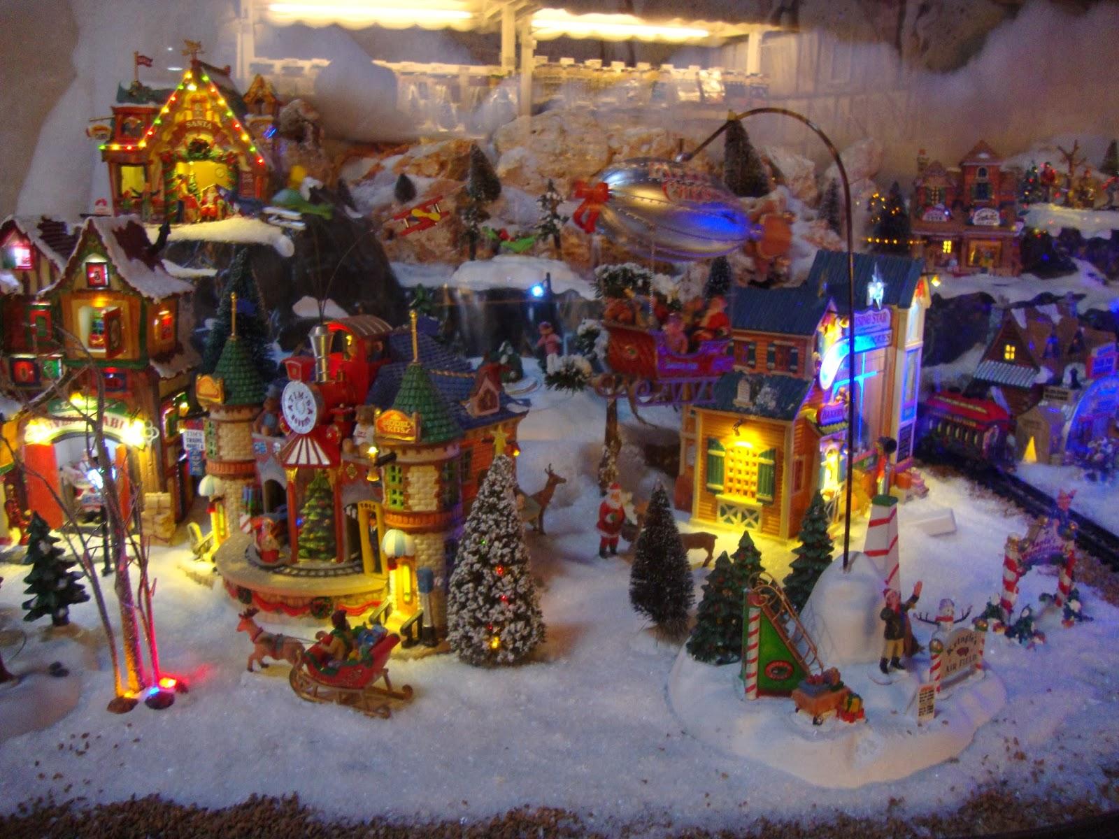 Un piccolo giardino in citt Un Villaggio di Natale al