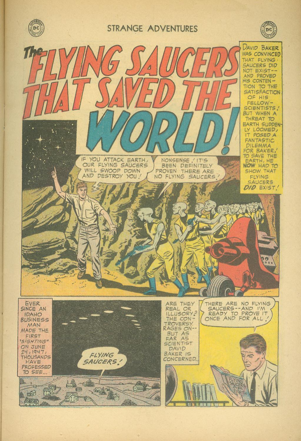 Strange Adventures (1950) issue 76 - Page 11