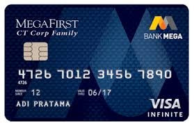 Kartu Kredit Bank Mega Visa Infinite