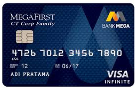 Kartu Kredit Bank Mega Visa Infinite