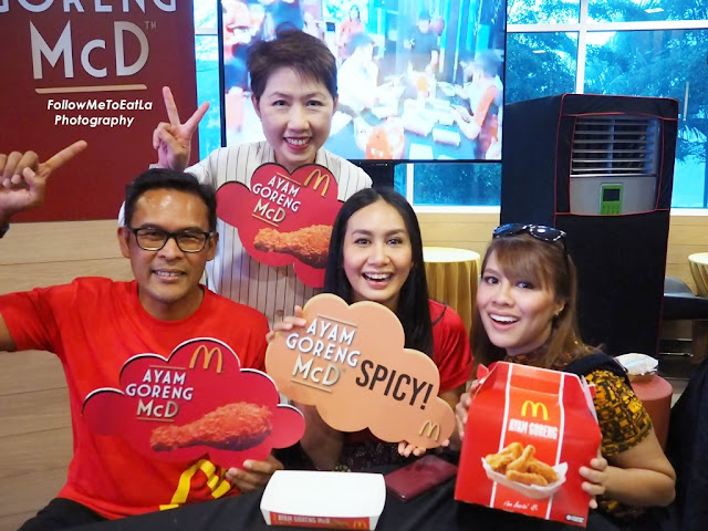 Posing Time With Azmir Jaafar, McDonald's Malaysia Managing Director, Jihan Muse & Marsha Milan