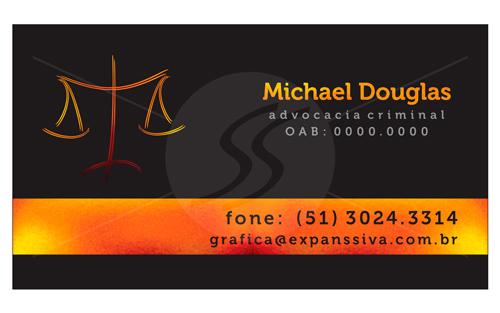 Cartões de Visita Advogados