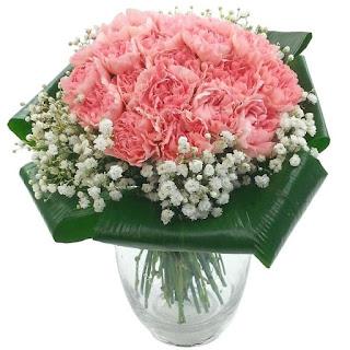 Beautiful carnation arrangement Saigon