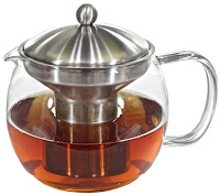 Glass Teapot Tea Infuser with Warmer  #willowandeverett