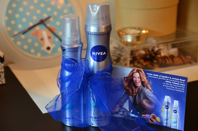 nivea volume care