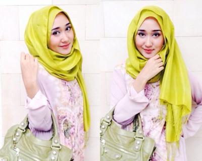 tutorial hijab segi empat simple tanpa ciput untuk remaja