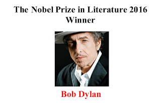 The Nobel Prize in Literature 2016