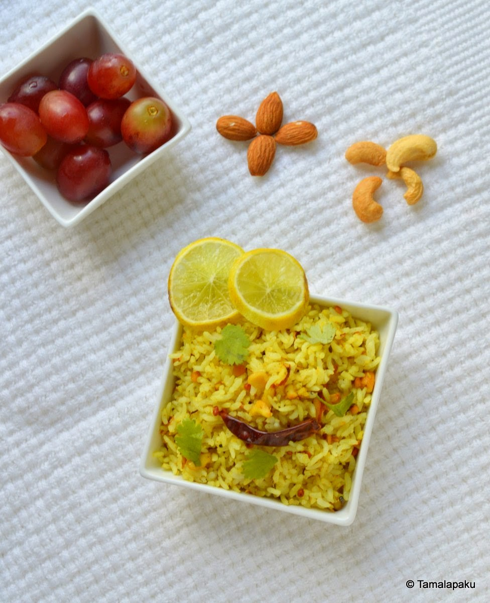 Nutty Lemon Rice