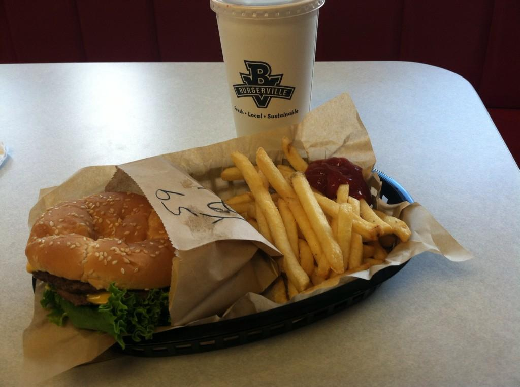 Burgerville Menu and Price List Latest US 2017
