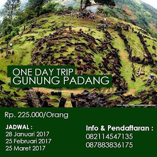 Open Trip Ke Gunung Padang Cianjur