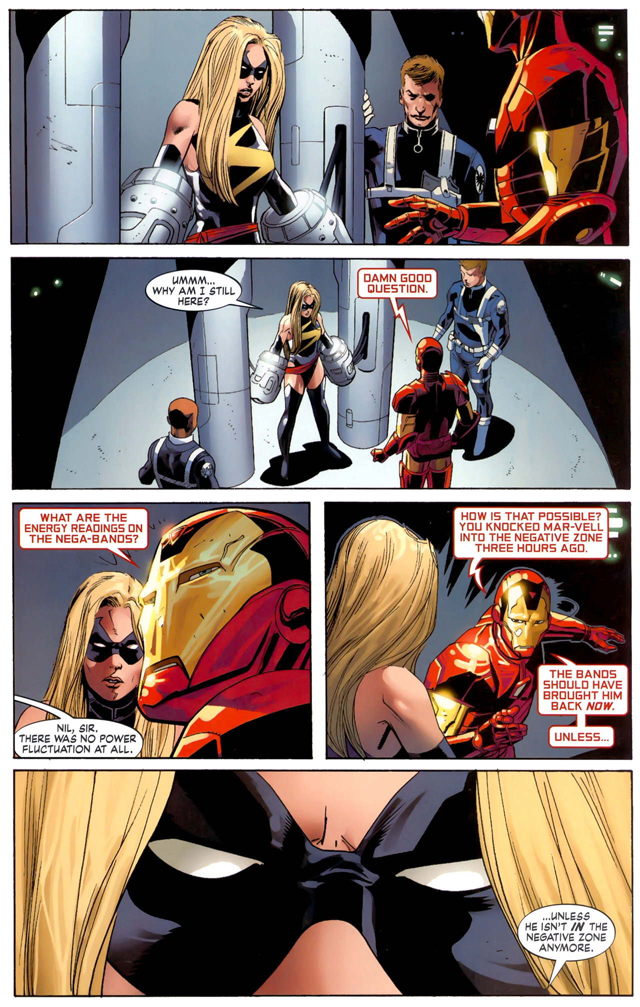 Read online Secret Invasion: The Infiltration comic -  Issue #6 - 4