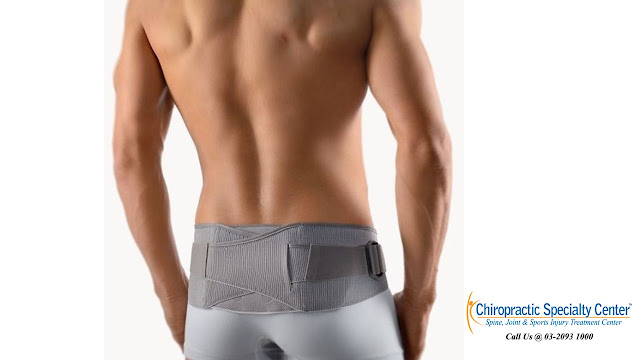 lumbar belt for back and hip pain