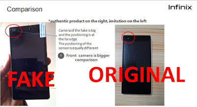 How to Spot Fake Versions Of Infinix HOT 2 In Nigerian Market