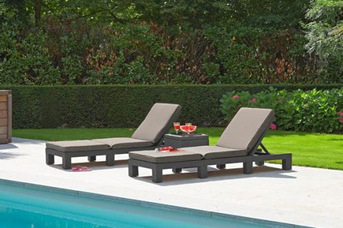 Ligstoel Tuin Aluminium : Ligstoelen voor tuin en terras tuin