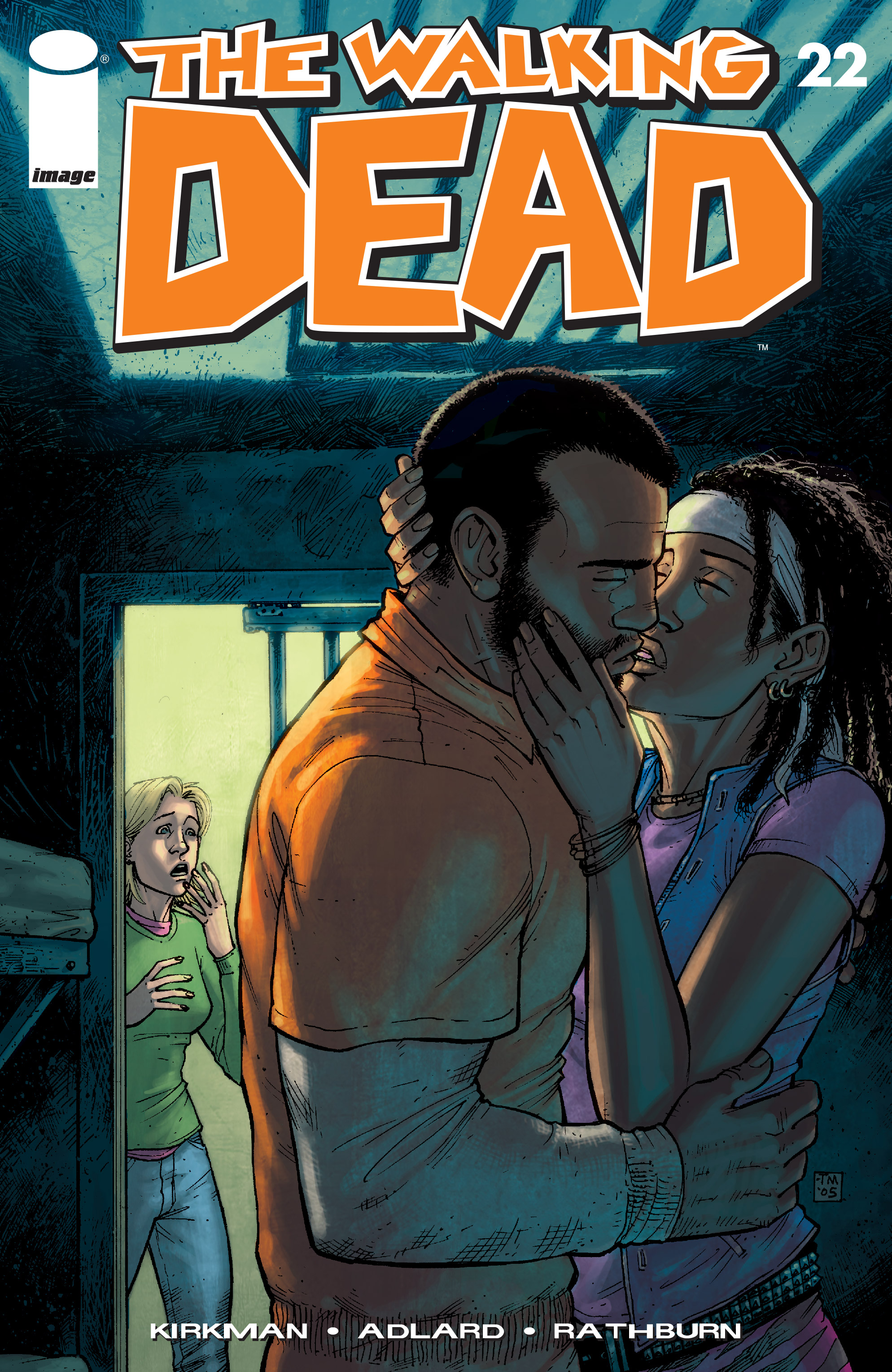 The Walking Dead 22 Page 1