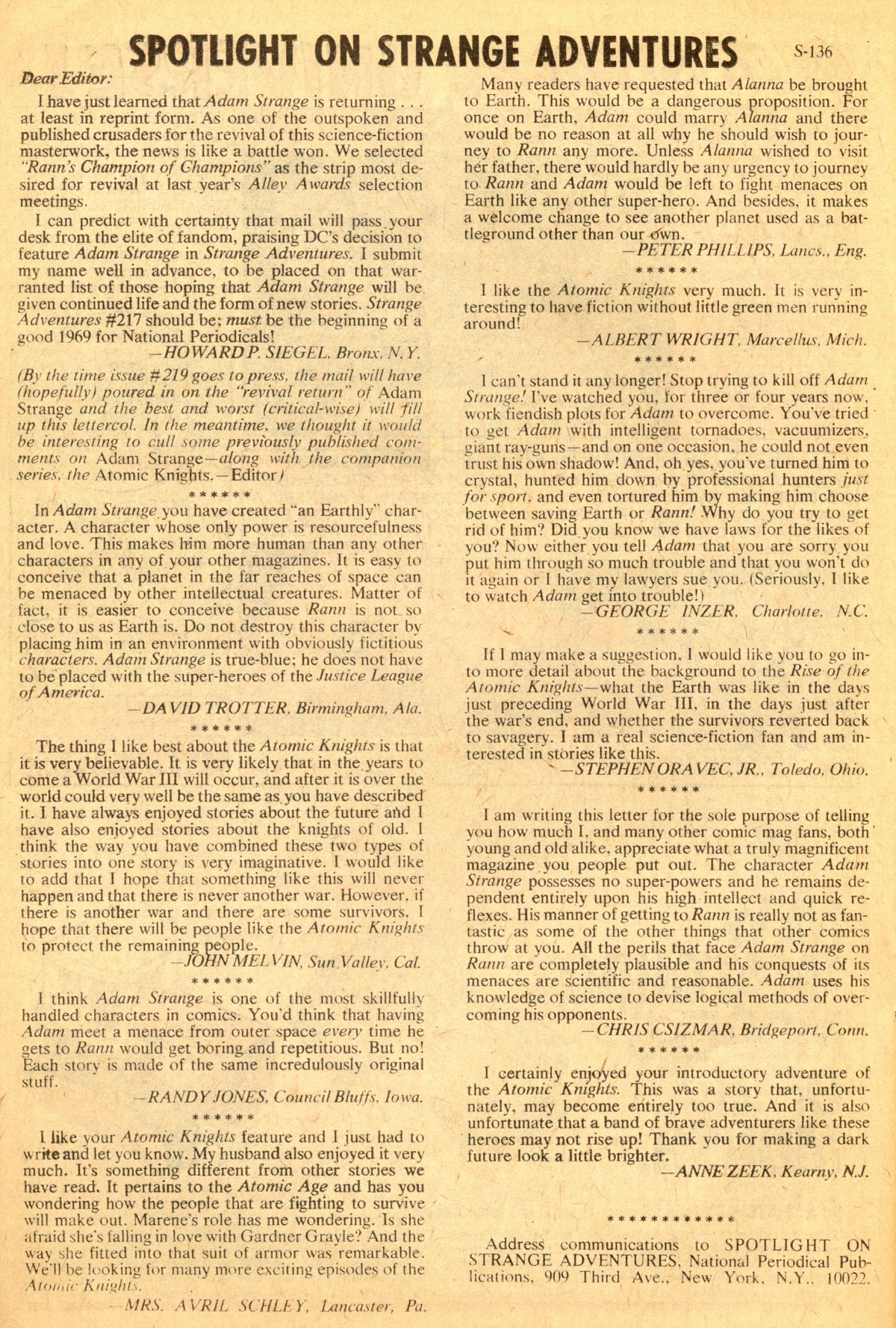 Strange Adventures (1950) issue 218 - Page 22
