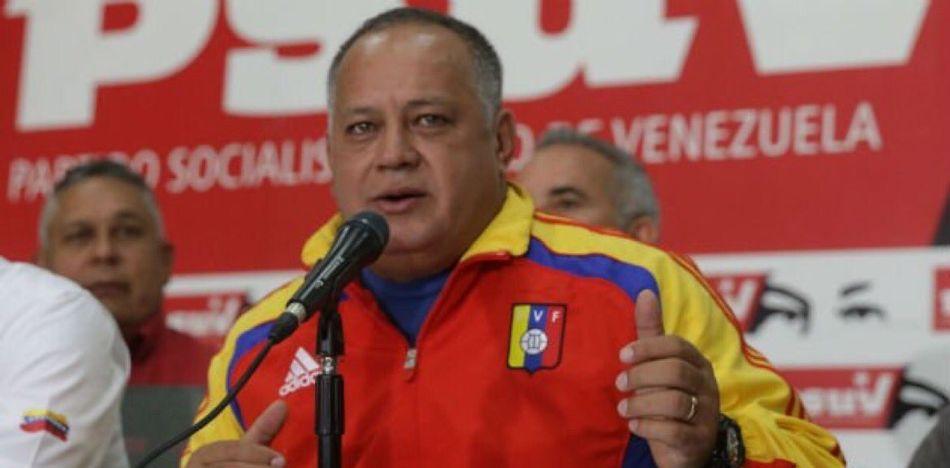 El chavista y actual constituyente Diodado Cabello es investigado por presuntos nexos con el narcotráfico