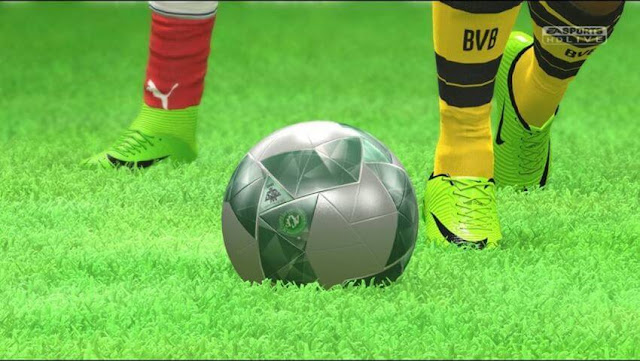 PES 2017 New 3D Pitch No.2
