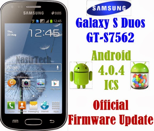 Samsung Galaxy S7562XXBMJ1 Android 4 0 4 ICS Firmware for Galaxy S