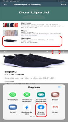 Fitur-fitur pada aplikasi whatsapp bisnis untuk anda pakai