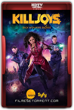 Killjoys 2ª Temporada Legendado Torrent 2016 HDTV 720p 1080p Download