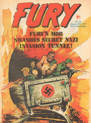 Marvel UK, Fury #24