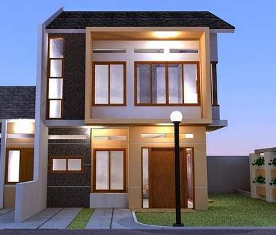 desain rumah minimalis sederhana 2 lantai type 36
