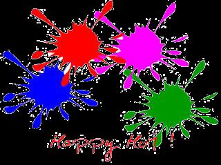holi colours png