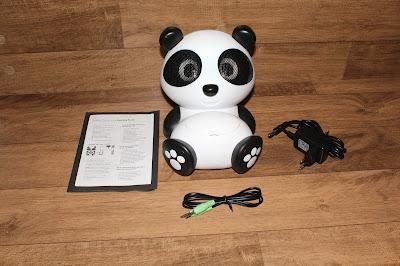 Alto Falante Panda com componentes