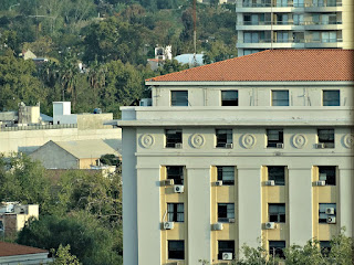 Casa de Gobierno de Mendoza - Vista do Terraço do Hotel Amérian
