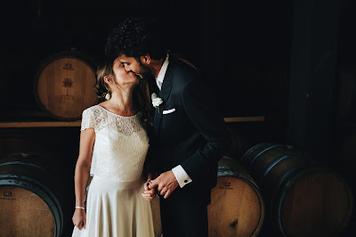 matrimonio vino cantina fina