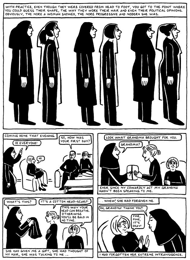 Read Chapter 15 - The Convocation, page 140, from Marjane Satrapi's Persepolis 2 - The Story of a Return