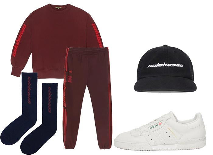 Yeezy Calabasas Collection 2017