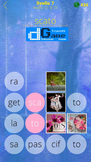 650 Foto soluzione pacchetto 7 livelli (1-25)