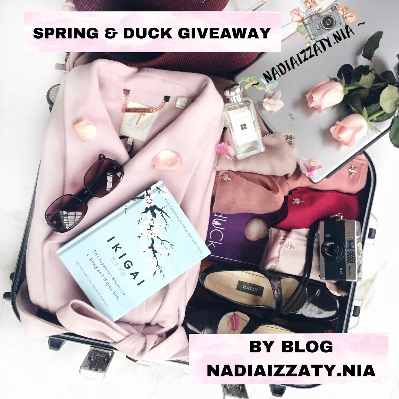 SPRING & DUCK GIVEAWAY BY BLOG NADIAIZZATY.NIA