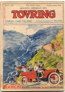 Early Italy Guidebook from TCI, Touring Club Italiano 1908
