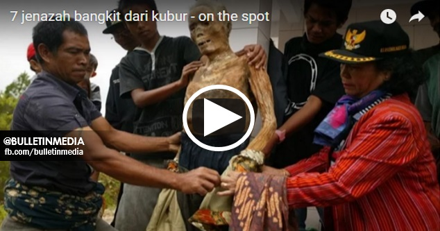 Pelik Tapi Benar!! VIDEO Ini Memaparkan 7 JENAZAH Bangkit Semula Dari KUBUR Selepas PEMUJAAN !
