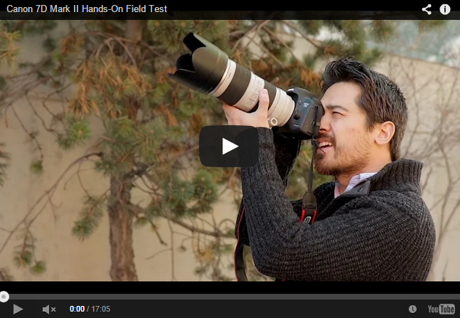 Canon EOS 7D Mark II Hands-On Field Test