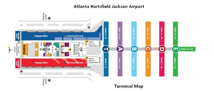 Atlanta Airport Terminal S Food