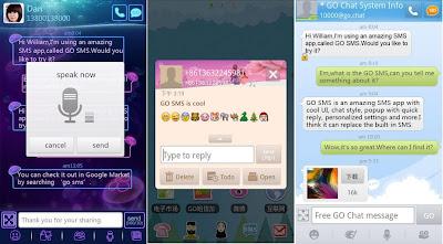 Screenshot GO SMS Pro Premium