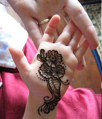 Kids Mehendi Designs