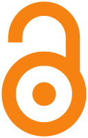 image of an open access icon that is an unlocked orange lock