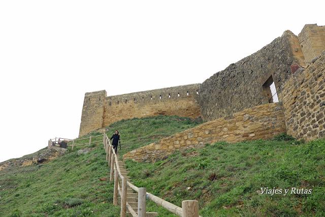 Cerco del Castillo de San Vicente de la Sonsierra. La Rioja
