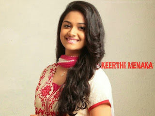 keerthi suresh images with quotes