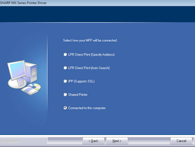 How To Download and Install Driver Sharp MX-C312