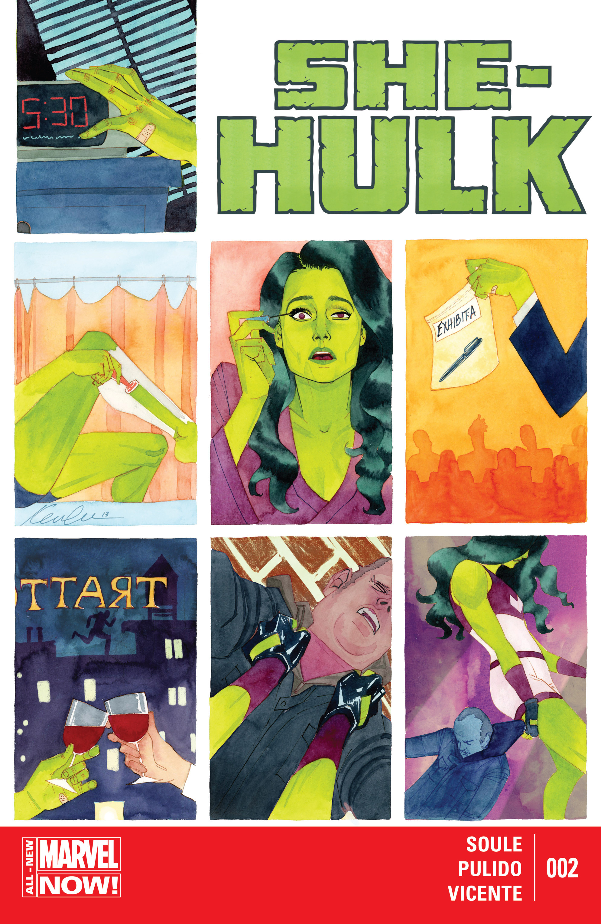 Read online She-Hulk (2014) comic -  Issue #2 - 1