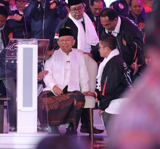 Beredar Isu Jokowi Hanya Jadikannya sebagai Alat, Ma'ruf Amin: Itu Terlalu Meremehkan