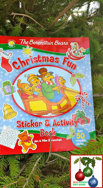 holiday gifts, holiday gift guide, mike berenstain, christmas activity books, zonderkidz