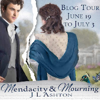 Mendacity & Mourning by J L Ashton - Blog Tour