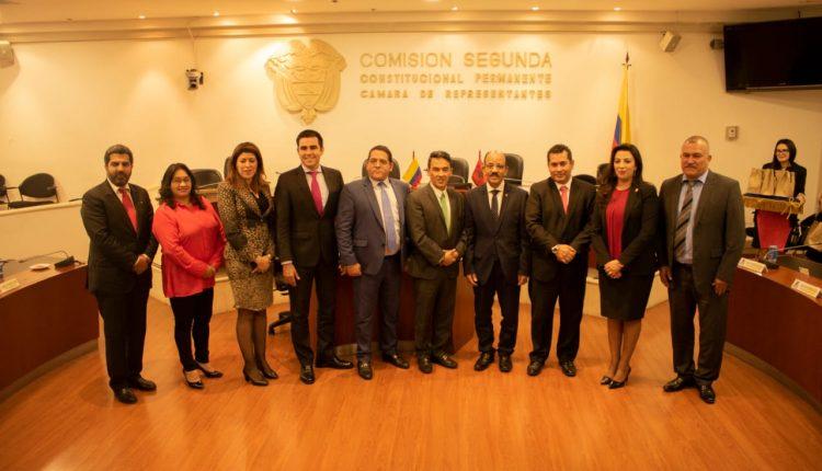زهور الوهابي تثمن من بوغوتا جهود كولومبيا حكومة وبرلمانا لدعم قضية الوحدة الترابية للمملكة المغربية